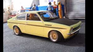 opel ascona tuning opel kadett c coupe sr modified tuning by cs diecast tuning 1 18
