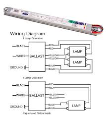 how to wire a 2 l ballast ft55w 2g11 ballast t5 electronic fluorescent 1 or 2 l 120v 277v