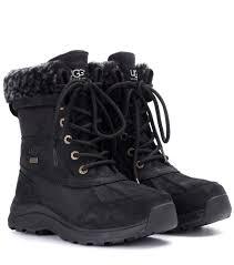 ugg australia s jaspan boots ugg australia adirondack iii fur trimmed leather boots