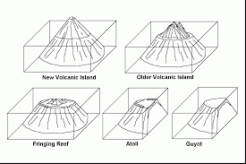 extraordinary volcano coloring pages dokardokarz net