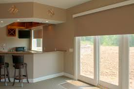 bathroom window treatments lowes shades work perfectly for narrow