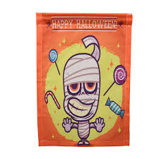 halloween mini garden flags home outdoor decoration