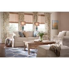 Homes Decorators Collection Home Decorators Collection Mayfair Classic Natural Fabric Arm