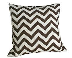 Throws And Cushions For Sofas Zigzag Throw Pillows Chevron Pillow Brown Cream Stripes Modern