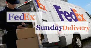 fedex sunday delivery hours mail on sunday