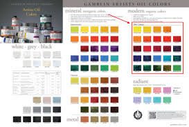 Modern Color Palette Mineral And Modern Colors Painters U0027 Access To Color