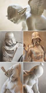 what 5 famous star wars characters look like as classical greek