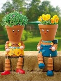 Pot Garden Ideas Flower Pot Ideas For Your Garden Dump A Day
