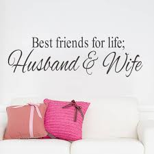 wedding quotes for best friend aliexpress buy wall sticker best friends for husband