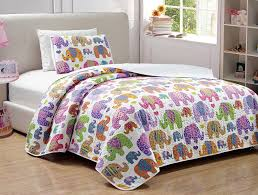 Elephant Bedding Twin Amazon Com Mk Collection Twin Twin Extra Large 2 Pc Bedspread