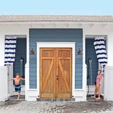 Mobile Home Bathroom Fixtures by Fresh Air Outdoor Bath Showers For Beach Houses Coastal Living