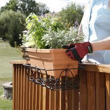 Deck Railing Planter Box Plans by Deck Boxes Amazon Com Radnor Decoration
