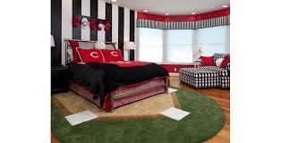Baseball Bed Frame Genius Boys Baseball Bedroom Design Ideas Pictures