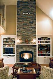 faux stone for fireplace binhminh decoration