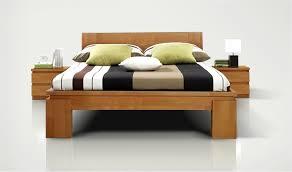 discount chambre a coucher lit en bois naturel vinci haut mobilier en bois massif discount