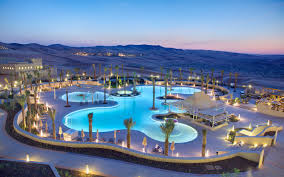 situated on the edge of the largest sand desert in the world qasr