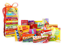 candy gift basket nostalgic candy theatre box gift tower