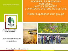 chambre d agriculture tours recherche et innovation en agriculture ppt télécharger