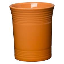 fiesta dinnerware scarlet 6 5 8 in utensil crock hayneedle