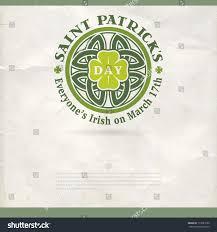 happy st patricks day vector poster stock vector 177281639