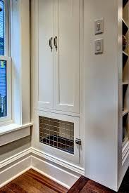 kitchen gun midwest dog crates in kitchen craftsman with hidden safe next to