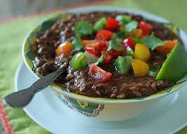 crock pot vegan black bean and brown rice soup kitchen treaty