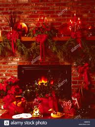 christmas fruit baskets christmas fireplace still with blazing hearth fruit baskets