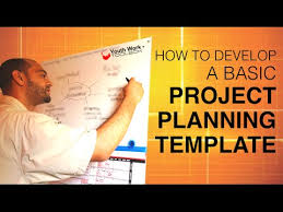 project planning template how to develop a basic project planning