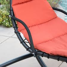 Outdoor Dream Chair Orange Dream Chair Hanging Lounger Heavenly Hammocks