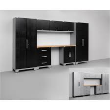 new age pro series cabinets newage products performance series 8 piece cabinetry set