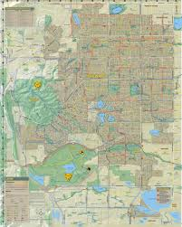 Loveland Colorado Map by Bike And Recreation Map