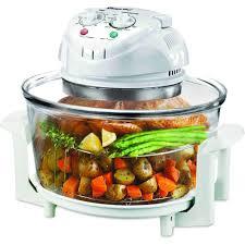 black friday convection oven amazon com magic chef ewgc12w3 glass bowl convection oven 3
