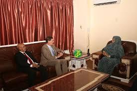 chambre de commerce et d industrie de marseille ami la ministre du commerce reçoit le directeur général de la