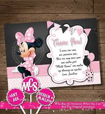 minnie mouse thank you cards minnie mouse party ideas for kids hative