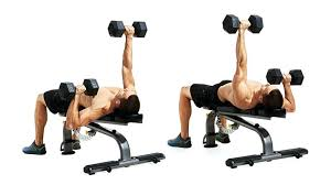 Incline Dumbell Bench Press Flat Bench Dumbbell Press Or Incline Flat Bench Dumbbell Press