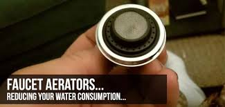 kitchen faucet aerators flow reducers and faucet aerators to save water in the