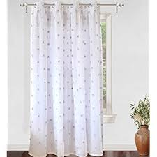 Lilac Nursery Curtains Exclusive Home Curtains Ruffles Rod Pocket Window