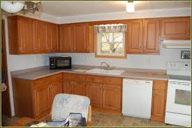 replacing kitchen cabinet doors before and after replacement