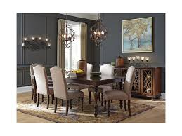Dining Room Extension Table by Signature Design By Ashley Baxenburg Traditional Rectangular