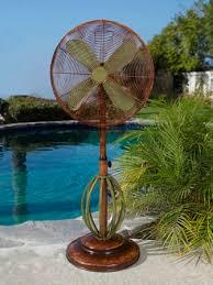dbf0622 playa outdoor patio fan floor standing outdoor fan by