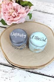 with this ring i thee wed burlap ring bearer pillow boxes set of two with this ring