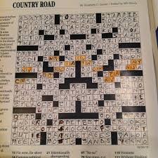 nyt new york times crossword puzzle country road crossword kathy
