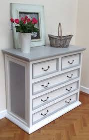 shabby chic desk painted in little greene portland stone pale 155