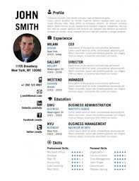 Free Cool Resume Templates Resume Example Cool Resume Templates For Mac Resume Samples Free