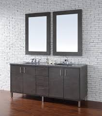 Oak Bathroom Furniture Abstron 72 Inch Silver Oak Finish Bathroom Vanity Stone