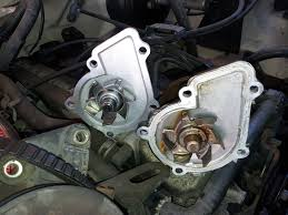 chisheu com how to replace a water pump and thermostat on a 98