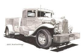 Antique Ford Truck Art - automotiveartists com u2013 page 6 u2013 showcasing the best in automotive art