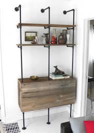 How To Make A Pipe Bookshelf How To Build A Pipe Shelf U2013 Craftbnb