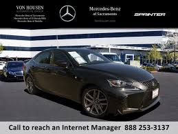 lexus is f sport turbo pre owned 2017 lexus is is turbo f sport 4dr car in sacramento