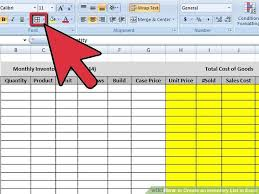 How To Create An Inventory Spreadsheet Inventory Checklist Template Inventory Tracking Spreadsheet